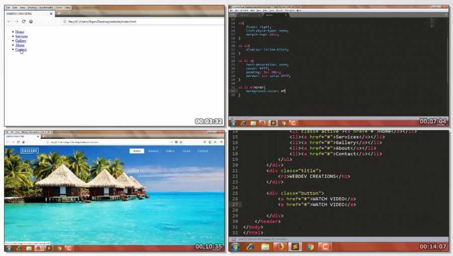 template e1568046491399 - آموزش گام به گام طراحی قالب html و css