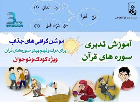دانلود مجموعه آموزش تدبری قرآن کریم پخش شده از شبکه پویا