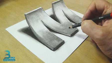 دانلود فیلم آموزش نقاشی سه بعدی بصورت گام به گام