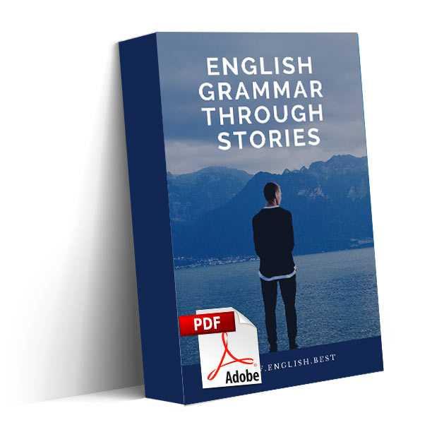 دانلود کتاب آموزش گرامر انگلیسی English Grammar Through Stories