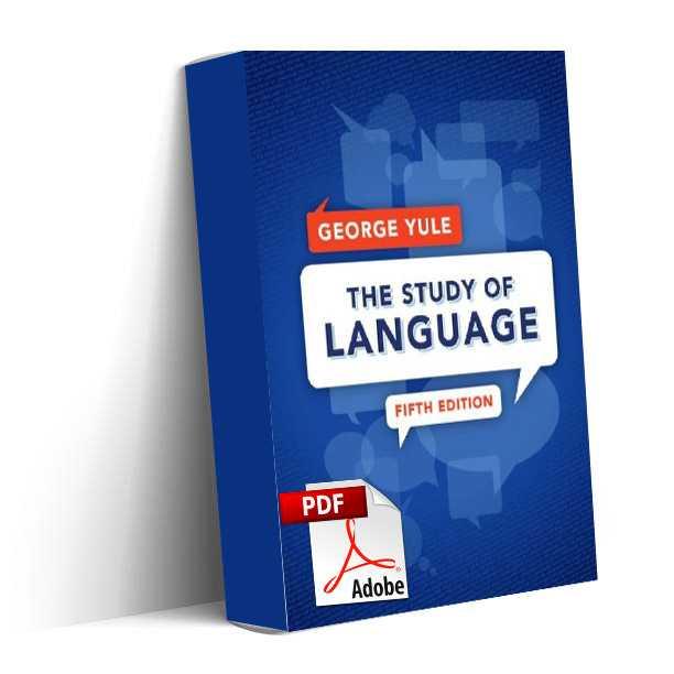 دانلود کتاب The Study of Language ویرایش پنجم