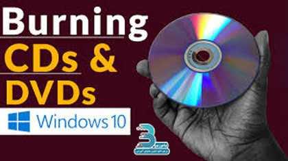 دانلود فیلم آموزش رایت سی دی و دی وی دی در ویندوز 10