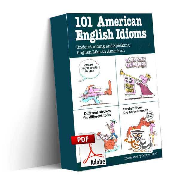 دانلود کتاب ۱۰۱ اصطلاح انگلیسی آمریکایی Learn 101 American English Idioms