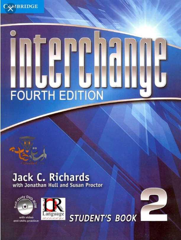 دانلود کتاب Interchange 2 ویرایش چهارم به همراه کتاب کار