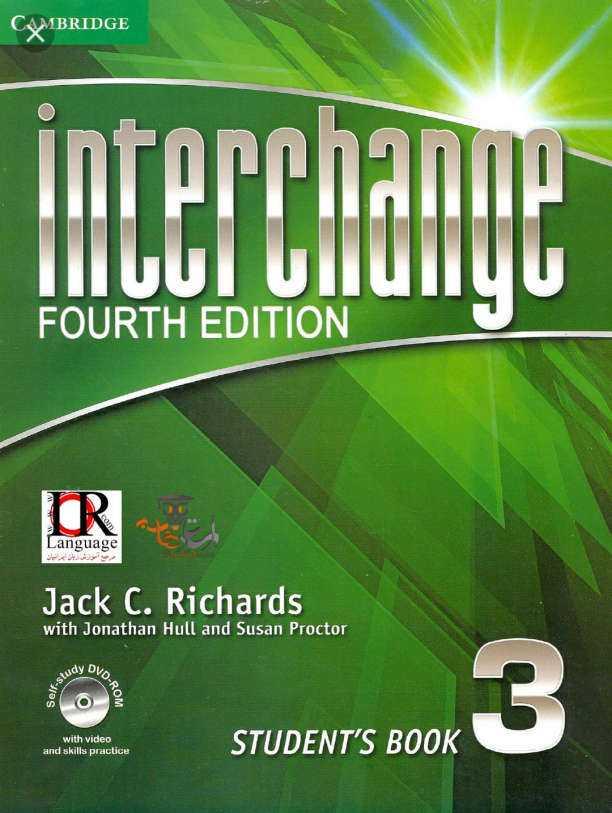 دانلود کتاب Interchange 3 ویرایش چهارم به همراه کتاب کار