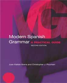 کتاب گرامر اسپانیایی Modern Spanish Grammar