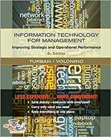 دانلود کتاب Information Technology for Management ویرایش هشتم