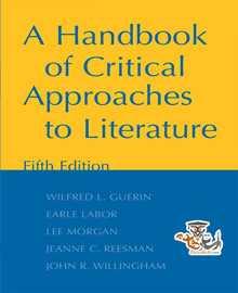 دانلود کتاب مبانی نقد ادبیات و فیلم A Handbook of Critical Approaches to Literature