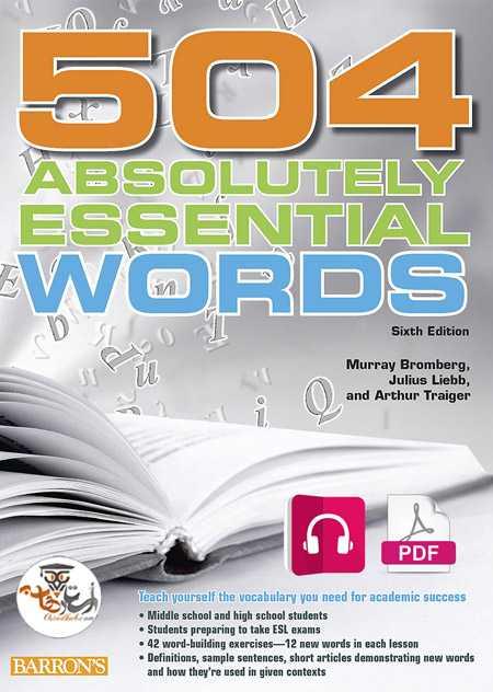 دانلود کتاب ۵۰۴ به همراه فایل صوتی –  ۵۰۴ Absolutely Essential Words