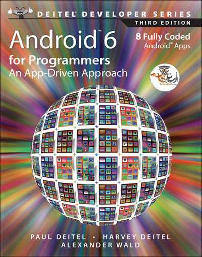 """<span itemprop=""""name"""">دانلود کتاب اندروید برای برنامه نویسان Android 6 for Programmers: An App-Driven Approach</span>"""