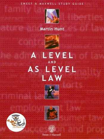 دانلود کتاب متون حقوقی مارتین هانت A Level and As Level Law Martin Hunt