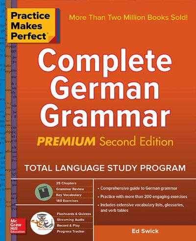 کتاب گرامر کامل زبان آلمانی Complete German Grammar