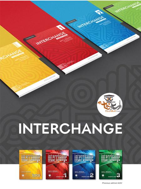دانلود کتاب های Interchange ویرایش چهارم به همراه کتاب کار