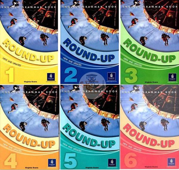 new round up pack - دانلود مجموعه کتاب های New Round Up به همراه فایل صوتی